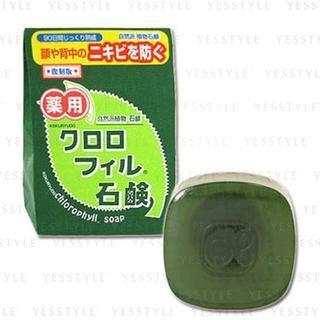 Image of Kokuryudo - Chlorophyll Soap 85g