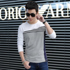 Panel Short-Sleeve Crewneck T-Shirt от YesStyle.com INT