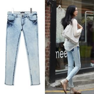 Buy MoDN Washed Skinny Jeans 1022976266
