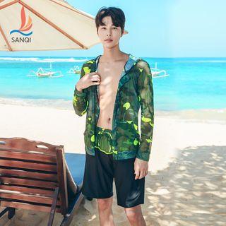 Image of Camo Swim Jacket