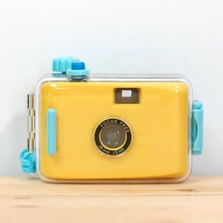 Waterproof Film Camera Yellow - One Size
