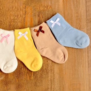Image of Baby Bow Socks