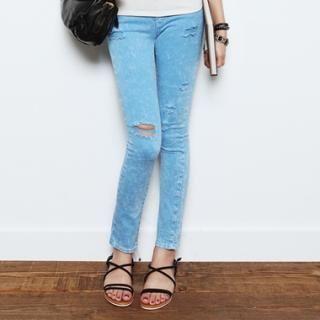 Buy COZY Distressed Skinny Jeans 1023061806