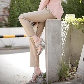 Buy AKA Ankle Length Pants with Belt 1022776701
