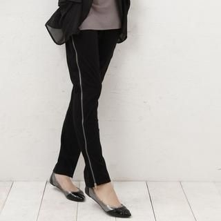 Buy Yammi Side Zips Pants Black – One Size 1021347931