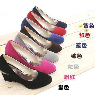 Picture of KAWO Wedge Pumps 1022760232 (Pump Shoes, KAWO Shoes, China Shoes, Womens Shoes, Womens Pump Shoes)