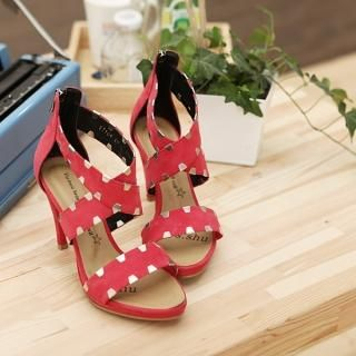 Picture of SDKING Studded Strap Sandals 1022525925 (Sandals, SDKING Shoes, Korea Shoes, Womens Shoes, Womens Sandals)