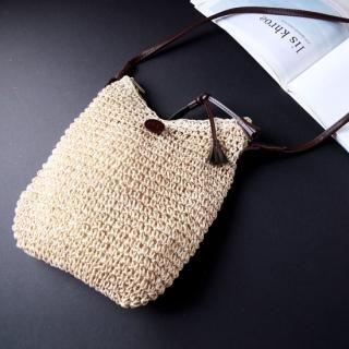 Buy Sunbijou Woven Shoulder Bag 1022913973