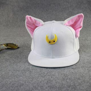 Cat-Ear Paneled Baseball Cap 1053021026