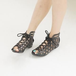 Buy Youareagirl Lace-Up Sandals 1022947688