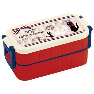 Kiki's Delivery Service Tight 2 Layer Lunch Box (Airmail) 1055894598