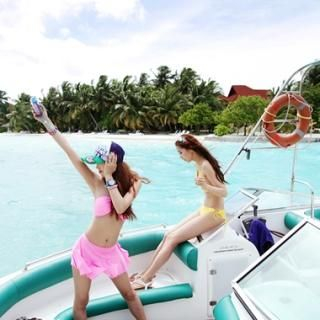 Buy KENZI Set: Halter Bikini + Ruffled Miniskirt 1022779611