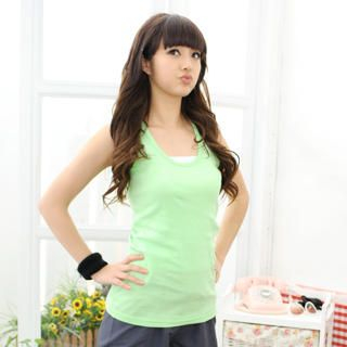 Picture of 59 Seconds Racerback Tank Top 1022071415 (59 Seconds Apparel, Womens Innerwear, Hong Kong Apparel, Slips & Camis)