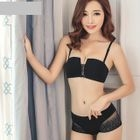Set: Lace Panel Bra + Panty 1596