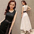 Sleeveless Lace Maxi Dress 1596