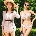 Set : Frill Trim Bikini + Cover-up 1596