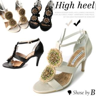 Picture of Shoes by B Beads Accent Sandals 1022771749 (Sandals, Shoes by B Shoes, Korea Shoes, Womens Shoes, Womens Sandals)
