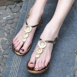 Buy KAWO Jeweled Thong Sandals 1022911900