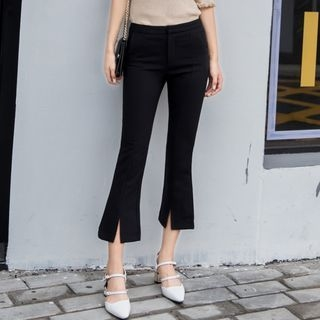 Cropped Boot-Cut Pants 1063322423