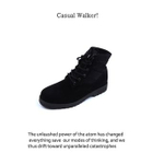 Faux-Leather Lace-Up Boots от YesStyle.com INT