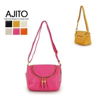 Ajito Tassel Accent Crossbody Bag