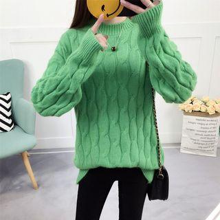 Rib Knit Sweater 1064373649