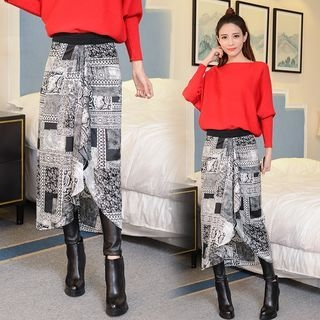 faux-leather-legging-inset-midi-skirt