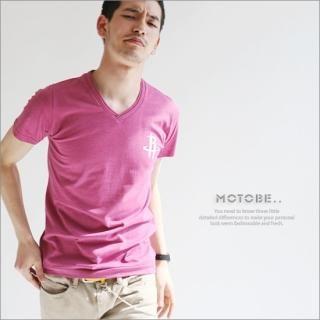 Buy MOTOBE V-Neck Tee Shirt 1022500929