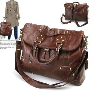 Buy ASHTON Genuine Leather Convertible Tote 1022523205