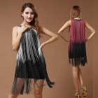 Fringed Sleeveless Dance Dress от YesStyle.com INT