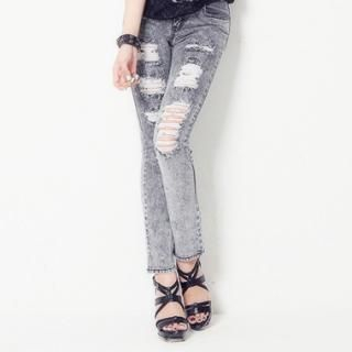 Buy COZY Distressed Skinny Jeans 1023061710