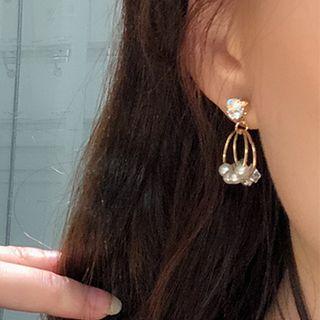 Rhinestone | Crystal | Earring | Dangle | Pearl | Hoop | Faux | Size | One
