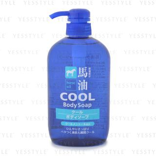 Image of Cosme Station - Horse Oil Cool Body Soap 600ml