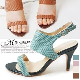 Picture of MICHEL PARA COLLECTION Ankle Strap Sandals 1022938726 (Sandals, MICHEL PARA COLLECTION Shoes, Korea Shoes, Womens Shoes, Womens Sandals)