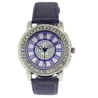 crystal-wrist-watch-purple-silver-one-size