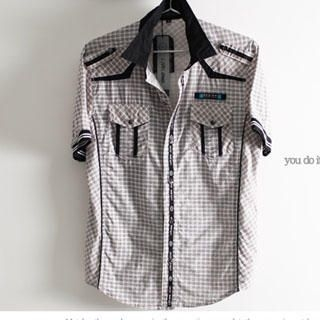 Picture of SERUSH Check Shirt 1022545030 (SERUSH, Mens Tees, Taiwan)