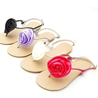Buy KAWO Rosette-Accent Thong Sandals 1022774283