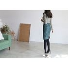 Lace Pencil Skirt 1596