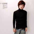 Turtleneck Long Sleeve Top Black от YesStyle.com INT