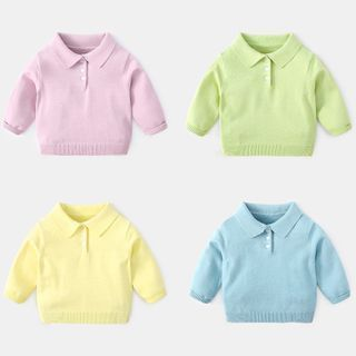 Image of Baby Polo Sweater