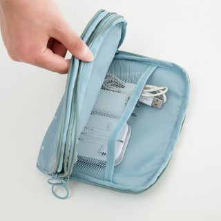 Image of Multipurpose Double Zip Pouch