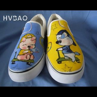 Picture of HVBAO Puppies Slip-Ons 1020381835 (Slip-On Shoes, HVBAO Shoes, Taiwan Shoes, Womens Shoes, Womens Slip-On Shoes)