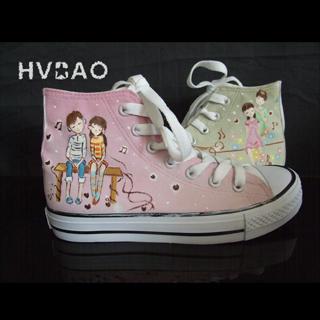 Buy HVBAO Romantic Life High-Top Sneakers 1014440565