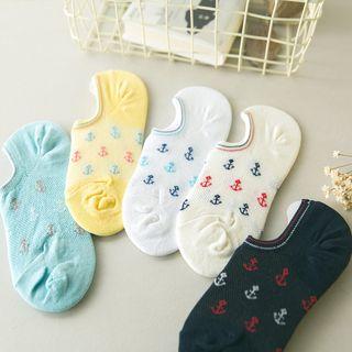 Image of Anchor Print Socks