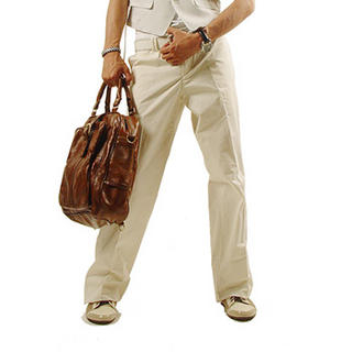 Buy Purplow Straight Leg Pants in Ivory 1004639795