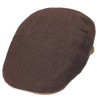 Picture of GRACE Linen Hunting Cap Brown - One Size 1014544782 (GRACE, Mens Hats & Scarves, Japan)