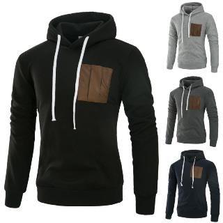 Image of Front Pocket Hooded Sweatshirt