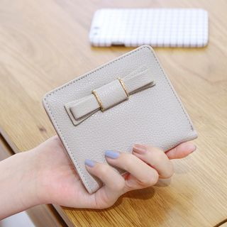 bow-faux-leather-wallet