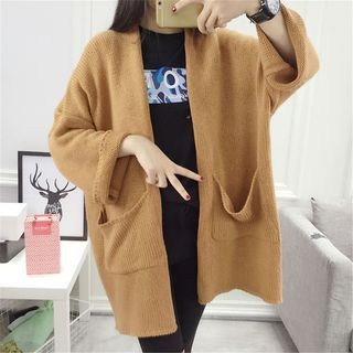 Ribbed Long Cardigan 1052956994