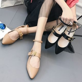 Buckled Pointed Flats 1062098506